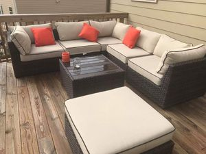 7 piece Patio furniture - from ashleys furniture store for Sale in Alpharetta, GA