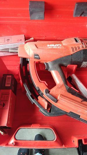***Hilti GX 120-me nail gun**** for Sale in Hunts Point, WA