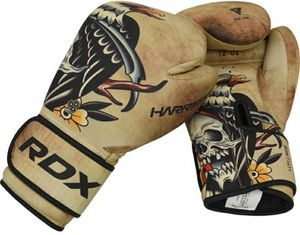 RDX T14 HARRIER Training Boxing Gloves Brown Tattoo for Sale in Anaheim, CA