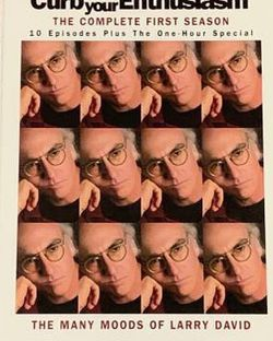 Larry David: Curb Your Enthusiasm - The Complete First Season DVD 2004 (2 Disc Set) for Sale in Chapel Hill,  NC