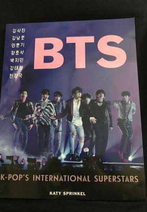 """""""BTS, K-POP'S INTERNATIONAL SUPERSTARS"""" Magazine by Katy Sprinkel for Sale in Grand Prairie, TX"""