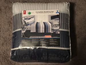 8Pc FULL SIZE COMFORTER SET - NEW IN THE PACKAGE - $40.00 for Sale in Largo, FL