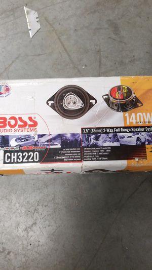 """Boss audio 3.5"""" 2 way full range speakers for Sale in Los Angeles, CA"""
