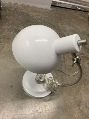 White Desk Lamp for Sale in Chicago, IL