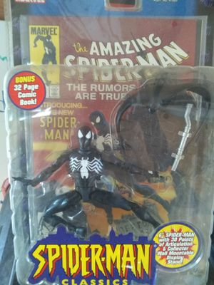 Spider-Man Classics Black costume Spider-Man for Sale in San Antonio, TX
