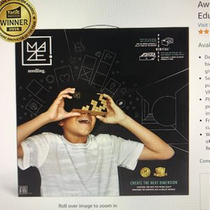 Seedling Design Your Own Marble Maze Virtual Reality Game- Brand New! for Sale in Arlington Heights, IL