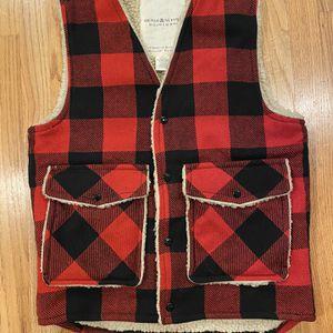 Ralph Lauren Mens Denim & Supply Buffalo Wool Vest Jacket for Sale in Seattle, WA