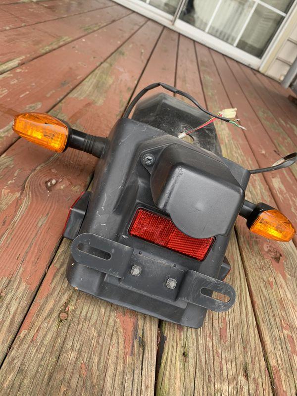 1988-2007 Ninja 250R Turn Signal & License Bracket