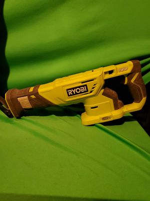 RYOBI CORDLESS 18V RECIPROCATING SAW TOOL ONLY for Sale in Beaumont, CA