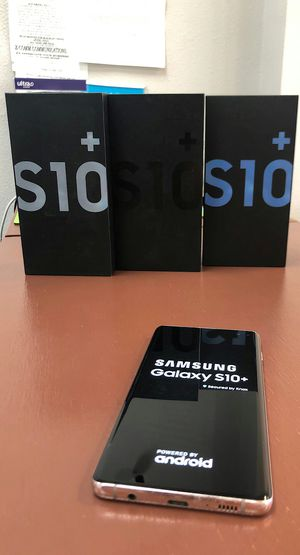 Samsung Galaxy S10+ New In Box / Like New - 512Gb / 128Gb - Unlocked ATT-Mobile Verizon-Starting @ for Sale in Arlington, TX
