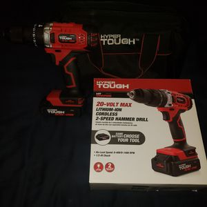 Hyper Tough Hammer Drill for Sale in Pflugerville, TX