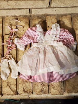 American Girl Doll - Samantha's Lacy pinafore and Rosebud Circlet for Sale in Bridgeview, IL
