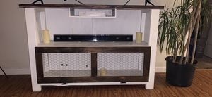 Farmhouse tv stand for Sale in Durham, NC