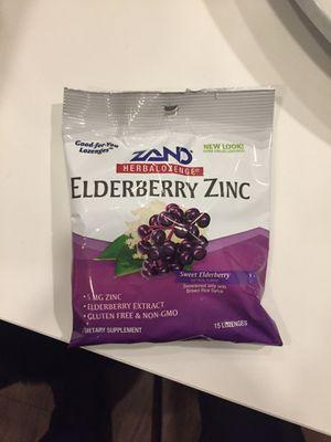 Zinc elderberry lozenge for Sale in Bellevue, WA