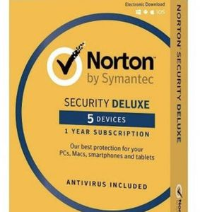 Norton Security Deluxe - 5 Devices (PC Software) for Sale in Minneapolis, MN