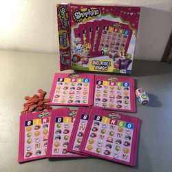Shopkins bingo game for Sale in Norton,  MA