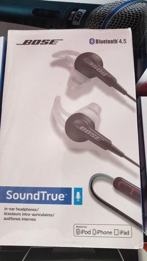 Bose bluetooth headphones for Sale in Pomona, CA