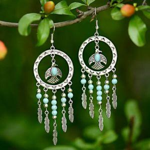 Silver Bohemian Round Thunderbird Earrings for Sale in Phoenix, AZ