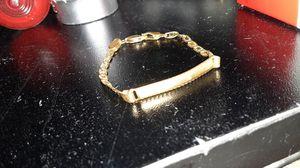 14k gold kids bracelet for Sale in Indianapolis, IN