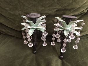 """8"""" wall hanging candle holders for Sale in Fairfax Station, VA"""