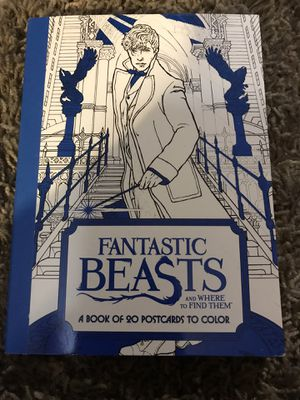 Fantastic Beasts book of postcards for Sale in Peoria, AZ