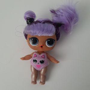 LOL Surprise Doll DARING DIVA Big SISTER SIS HAIRGOALS Purple hair for Sale in St. Petersburg, FL