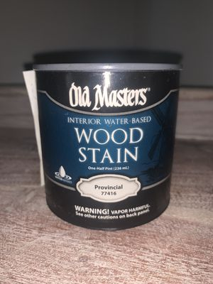 Old Masters Wood Stain interior water based one half pint Provincial 77416 for Sale in Whittier, CA