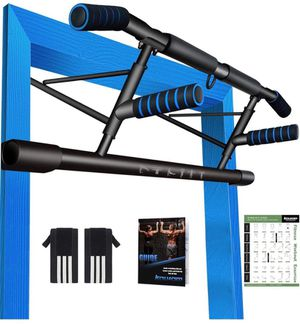 Portable Pull Up Handles for Doorframe, Chin Up Bar Handles - Home Gym Exercise Equipment for Indoor/Outdoor/Travel Strength Training, Holds up to 33 for Sale in Ontario, CA