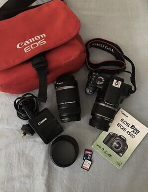 Canon Eos 450d Rebel Xsi Difital Camera With Accessories for Sale in Los Angeles, CA