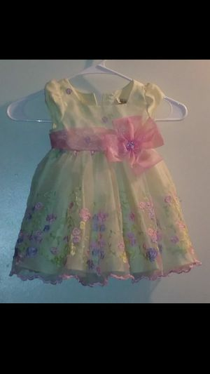Childrens girls easter dress (size 18 months) for Sale in Ontario, CA