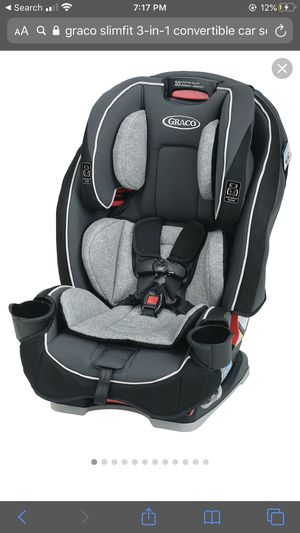 Graco slim fit 3 in 1 car seat for Sale in Los Angeles, CA