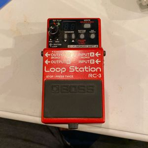 Boss RC3 Loop Station for Sale in San Diego, CA
