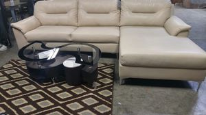 Sofa w/ chaise for Sale in Portland, OR