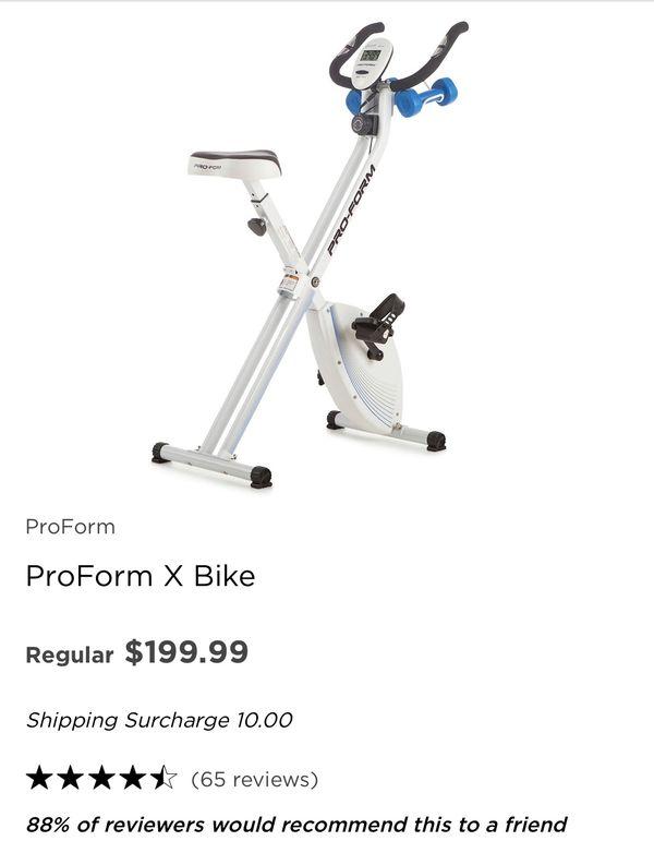 ProForm X Bike