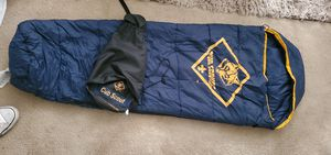 Cub scout light weight sleeping bag for Sale in La Puente, CA