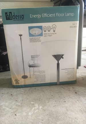 Energy Efficient Floor Lamp for Sale in Austin, TX