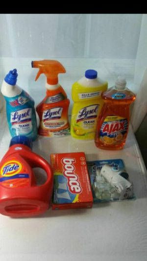 Tide, Lysol, Bounce Ajax + Snuggle Plug In for Sale in Denver, CO
