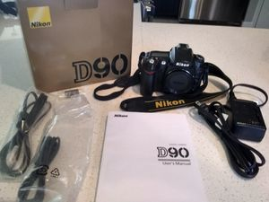 Nikon D90 bundle (camera, lenses, bag) for Sale in Annandale, VA