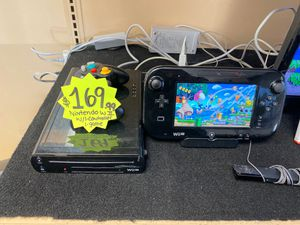 Nintendo Wii U w/1-controller 1-game super smash bro's for Sale in Houston, TX