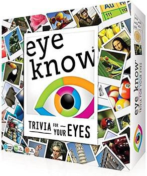 Eye Know Trivia For Your Eyes Mensa Select Family Card Trivia Game Cardinal for Sale in Independence, KS