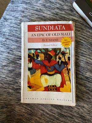 Sundiata : an epic of old Mali for Sale in Vista, CA