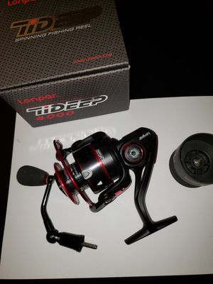 LONPAR Tideep spinning fishing reel for Sale in Victorville, CA