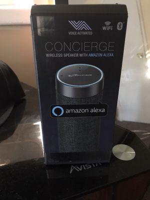 Concierge Wireless Speaker w/ Amazon Alexa for Sale in Morrow, GA