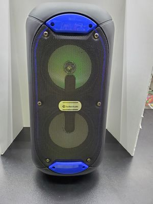 Rechargeable bluetooth portable party speaker with LED lights for Sale in Arlington, TX