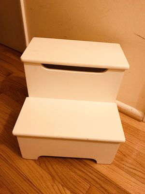 Kids sturdy wooden two-step step stool! for Sale in Falls Church, VA