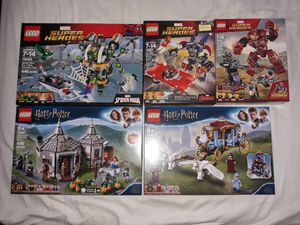 Lego Lot - Marvel DC Superheroes Harry Potter + More for Sale in South Gate, CA