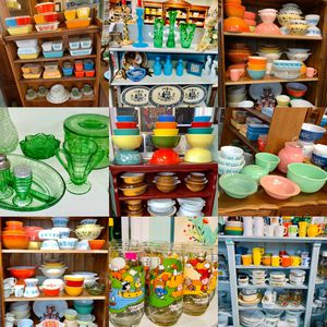 Vintage Glassware and Pyrex for Sale in Rockville, MD