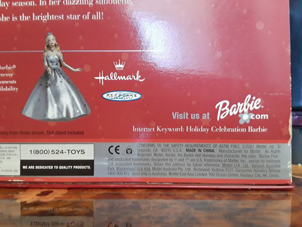 2001 Holiday Collection Barbie