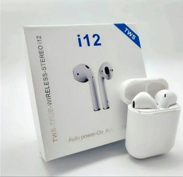 i12 TWS Headphones Airpod for iPhone and Samsung