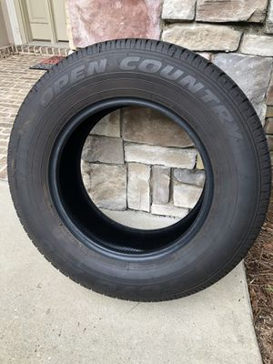 """Set of 4 Toyo truck tires for 17"""" wheels. for Sale in Gulf Breeze, FL"""